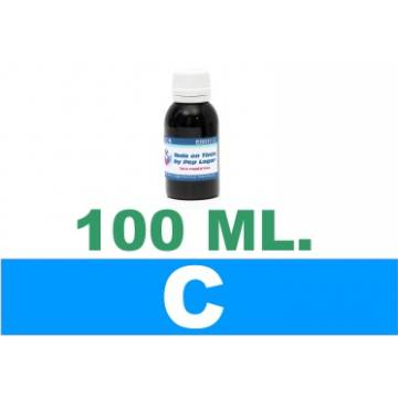 100 ml tinta para Brother cian lc123 lc985 lc1000 lc1100 lc1240