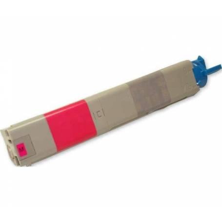 Cartucho toner reciclado Oki C3300 C3400 C3600 color magenta