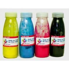Samsung CLP-320 CLP 325 CLX-3180 CLX-3185 recargas de toner, 4 botellas de toner NCMY