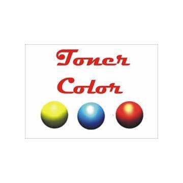 Para Hp color LaserJet cp1525 cm1415 para Canon lbp 5050 recargas de tóner color tres botellas cmy + chips