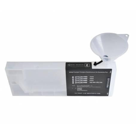 cartucho de plotter suelto cartucho transparente vacio para Epson