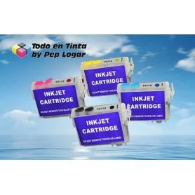 T0711H T0711H T1002 T1003 T1004 cartuchos recargables para Epson