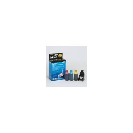 Mini Kit de Recarga InkTec cartuchos HP 300 y 901 3 colores, 25ml x 3