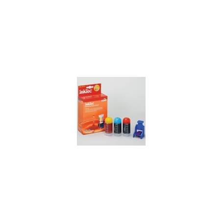 Mini Kit de Recarga InkTec cartuchos Canon CLI-511 513. 3 colores. 20ml x 3