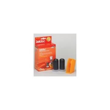Mini Kit de Recarga InkTec cartuchos para Canon PGI-520BK. negro . 20ml x 2