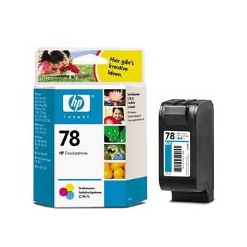 Maxi kit pro recarga de tinta cartucho para Hp nº 17 23 41 y 78 color