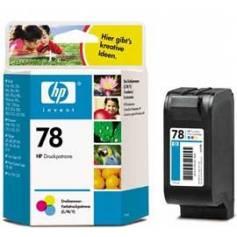 Maxi Kit Pro Recarga de tinta cartucho Hp nº 17, 23, 41 y 78 color
