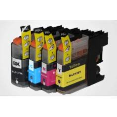 LC125XLM Brother magenta 16ml compatible para dcp j4110w mfc j4410 j4510 j4610 j4710d