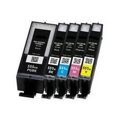 CLI-551XLM magenta 11ml compatible para Canon Pixma ip7250 mg5450 mg6350