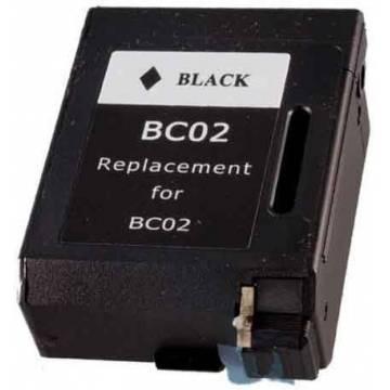 BC-02 20ml cartucho reciclado Canon bj 200 230 bjc 150 210 negro