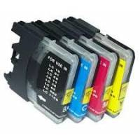 18ML Brother Compatible LC61C LC980C LC1100C ALTA CAPACITA