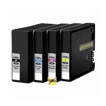 PGI-2500BK Negro XL 70.9ml compatible Canon ib4050 mb5050 mb5350 2,5k 9254b001