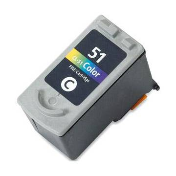 7MLX3 Regenerado Canon Color ParaPIXMA IP2200 IP6210D CL-51