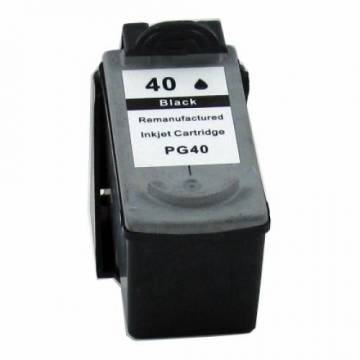 PG-40 negro 22 ml reciclado para Canon Pixma ip2200 mp150 mp170