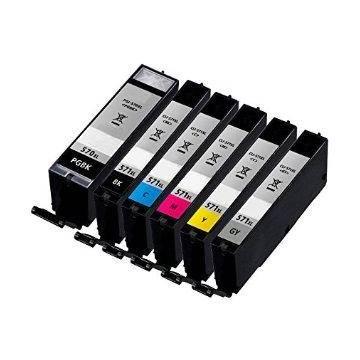 PGI-570XLBK negro 22.2ml compatible para Canon mg5700 mg6800 mg7700