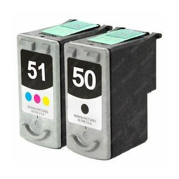 PG-50 negro 22 ml reciclado para Canon Pixma ip2200 mp150 mp170