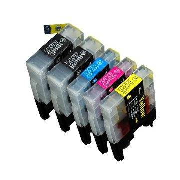 LC1240C Brother cian 10ml compatible para j525w j925dw j430w j6510dw j6910dw.