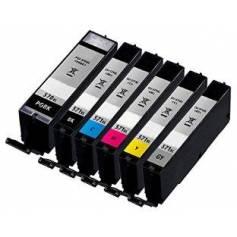 CLI-571XLC cian 10.8ml compatible para Canon mg5700 mg6800 mg7700