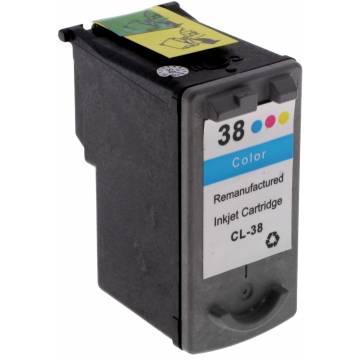 CL-38 7 ml x 3 reciclado para Canon Pixma ip1800 ip2500 mp140 mx300