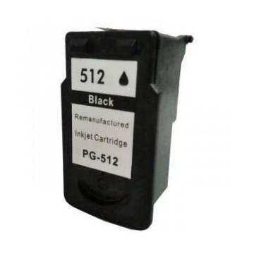 PG-512 negro 18ml reciclado para Canon Pixma mp240 mp260 mp480 mx320 mx330