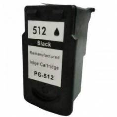 PG-512 negro 18ml reciclado para Canon Pixma mp240 mp260 mp480 mx320 mx330