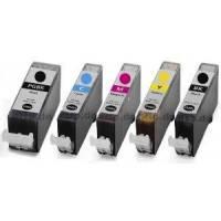Amarillo con chip paraCanon IP 4850,MG 5150,MG 5250,4543B001