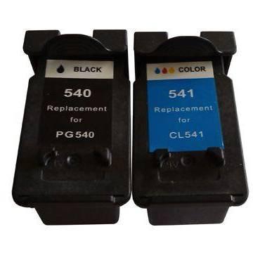 PG-540XL negro 18ml reciclado para Pixma mg2150 mg3150 mx435 mg3650