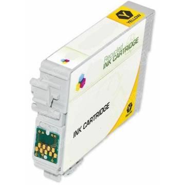 128 Amarillo compatible 8ml para Epson s22 sx125 420w bx305fw t12844020.