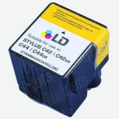 T037 37ml compatible Epson Stylus c42 plus c42s c42ux c44 color