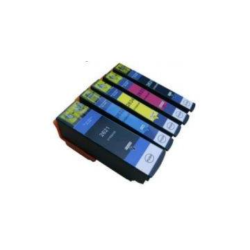 26XL 15ml negro compatible Epson xp600 xp605 xp700 xp800