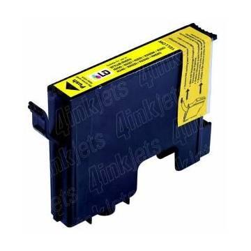 T0484 16ml compatible Epson Stylus photo r200 r300 rx600 amarillo