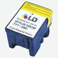 Cartucho Compatible Epson Stylus Color 680-Color T018