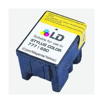 T018 Cartucho compatible Epson Stylus color 680 color t018