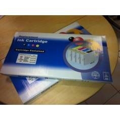 71 10 cartuchos compatibles T0711 T0712 T0713 T0714 (4 negro + 6 color)