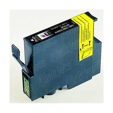 T0551 16ml compatible Epson Stylus photo r240 rx42x rx520 negro