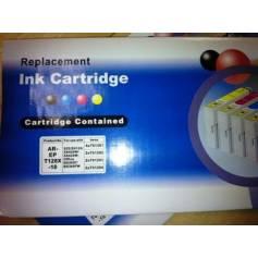 128 10 cartuchos compatibles T1281 T1282 T1283 T1284 (4 negro + 6 color)