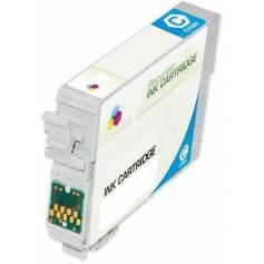 128 Cian 8ml compatible para Epson s22 sx125 420w bx305fw t12824020.