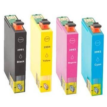 29XL Amarillo para Epson xp235 xp332 xp335 xp432 xp435