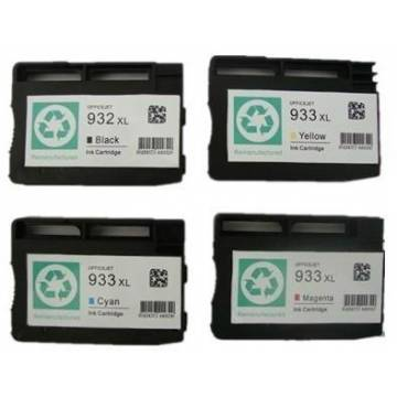 Hp 933XLC 13ml cian compatible para Hp 6100 h611a 6700 6600 h711a cn054ae