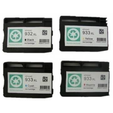 Hp 933XLY 13ml amarillo compatible para Hp 6100 h611a 6700 6600 h711a cn056ae
