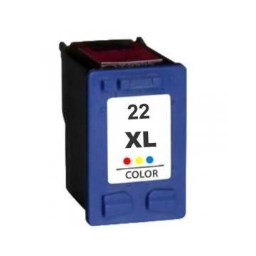 Hp 22XL 18ml reciclado para Hp f370 d1360 f2180 psc 1402 c9352ce