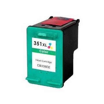 HP 351XL 18ml reciclado para Hp Deskjet d4245 d4260 d4263 cb338ee
