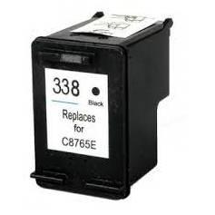 HP 338 18ml reciclado negro para Hp Deskjet 460xx 5740 5745 6520 c8765e