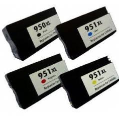 HP 951XLY 28ml amarillo compatible para Hp pro8100 pro8600e pro8600plus cn048ae