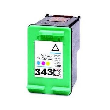 HP 343 18ml reciclado Hp Deskjet 460xx 5740 5745 6520 c8766e