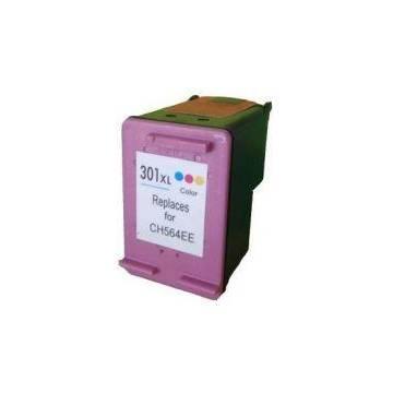 HP 301XLC color 3x5ml reciclado Hp 1050 2050 2050s 1000 3000.3050 j610a ch564ee