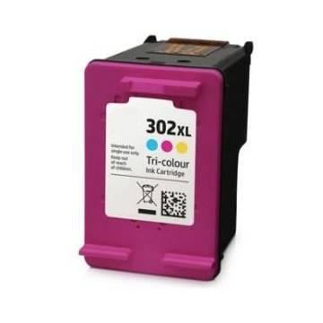 HP 302XLC Reciclado 3x5 ml para Hp 3830 3832 4650 1110 2130 3630 4520f6u67ae 330p Hp 302XLC