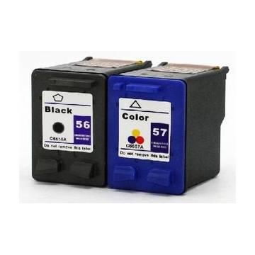 HP 56 18ml reciclado negro Hp Deskjet 450 5150 5550 c6656a