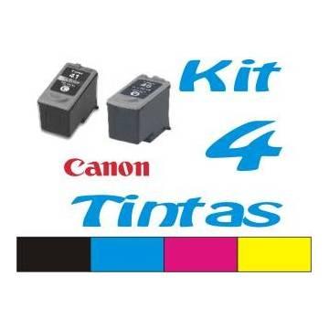 Maxi kit pro recarga cartuchos tinta para Canon pgi 512 y cli 513