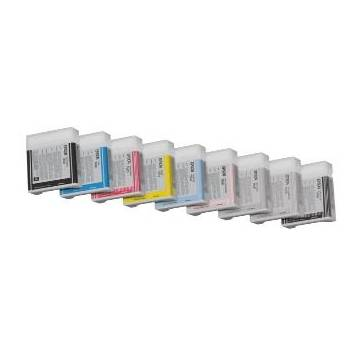 220ml pigmentada Epson pro7800 7880 9800 9880 c13t603700 negro claro